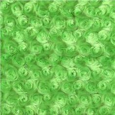 Minky Rose Cuddle Lime
