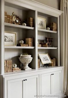Bookcase arrangement idea