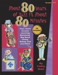 About 80 Years Of Jazz In About 80 Minutes - Four Short Lessons Covering Dixieland, Big Band, Bebop, And Jazz-Rock by Cathy Blair Cooperative Learning, Learning Games, Music Ed, Sheet Music, Jazz Instruments, Music Courses, Duke Ellington, Music Composers, Teacher Resources