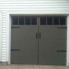 faux carriage garage doors. Fine Doors Vinyl Faux Carriage Garage Door  Pinterest Doors Number And Doors For
