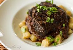"Mediterranean beef stew (""Pasticada"") Recipe on Yummly. @yummly #recipe"