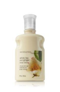 Bath & Body Works Pleasures Body Lotion - White Tea & Ginger  #BathBodyWorks