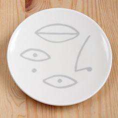 Face Dessert Plate