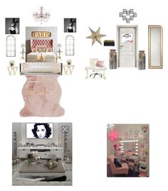 """Dream Rooms👄"" by gorgeouslee ❤ liked on Polyvore featuring interior, interiors, interior design, home, home decor, interior decorating, Amara, Anthropologie, Maison de Vacances and West Elm"