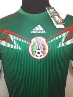 $30 MEXICO WORLD CUP SZ SM GREEN ADIDAS SOCCER JERSEY NEW W/DEFECT (DISPLAY ITEM) #adidas #Mexico