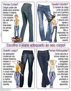 Jeans: não dá para não ter, não é mesmo?! Seja um jeans basicão para...
