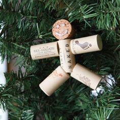 #DIY Christmas idea with wine corks