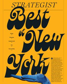 Best of New York - Lettering Illustration for the New York Times by Dave Coleman Gfx Design, Type Design, Layout Design, Print Design, Logo Design, 2020 Design, Design Web, Retro Design, Typography Letters