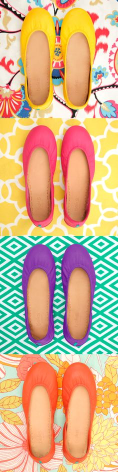 Can't wait to get a pair for me and my girls'. Discover Tieks, the most versatile ballet flats in the world! Cute Shoes, Me Too Shoes, Mellow Yellow, Crazy Shoes, Swagg, Fashion Shoes, Fashion Room, Just In Case, Ballet Flats