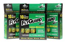 Flyguard Fly Catcher Catches All Flying Insects 10 Roll (3 Packs) 30 Rolls Total Fly Guard http://www.amazon.com/dp/B00KBEC4FE/ref=cm_sw_r_pi_dp_AN3Rtb0NHGCSWFQP