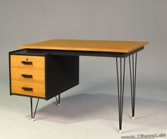Awesome mid century modern desk