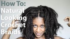 How I Install My Natural Looking Versatile Crochet Braids
