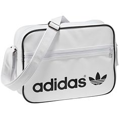 Discover the adidas Original apparel and shoes for men and women. Browse a variety of colors, styles and order from the adidas online store today. Adidas Bags, White Shoulder Bags, White Handbag, White Purses, Sporty Style, Casual Bags, Shoulder Handbags, Swagg, Nike