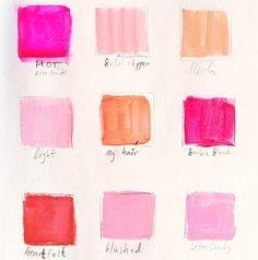 pink palette //