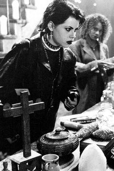 Fairuza Balk in The Craft (1996) - her intensity MADE this film addictive.