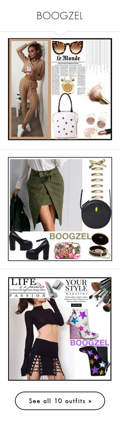 """""""BOOGZEL"""" by elma-993 ❤ liked on Polyvore featuring Milani, Boogzel, Dolce&Gabbana, Pussycat, Burberry, Loewe, Terre Mère and WALL"""