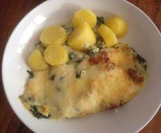 Gratin de cabillaud épinards avec des pommes de terre vapeur by PValerie on www.espace-recettes.fr