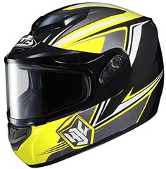 Hjc Helmets Cs-R2 Seca Snow Mc3 Xsm. Advanced Polycarbonate Composite Shell: Lightweight, superior fit and comfort using advanced CAD technology. RapidFire Shield Replacement System: Quick, secure, tool-less removal and installation. Optically Superior Faceshield: 95% UV protection. Advanced Ventilation System: Adjustable forehead and chin vents, and two rear exhaust vents. Plush, Nylex Interior: Crown and cheek pads are removable and washable.