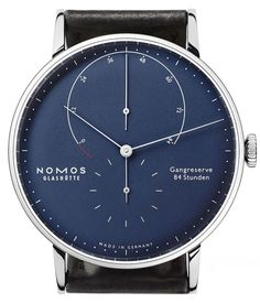 NOMOS Glashütte Lambda Deep Blue Watch