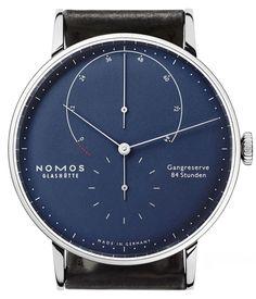 NOMOS Glashütte Lambda Deep Blue Watch
