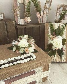 Wedding packages guest book, love letters and Card box