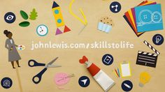 We were delighted to produce this stop motion animation to promote John Lewis' Bringing Skills to Life education programme - a fantastic resource for parents and teachers.  http://johnlewis.com/skillstolife