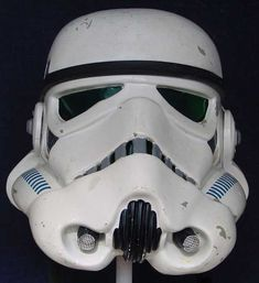 "Star Wars: Original ""A New Hope"" Stunt Stormtrooper Helmet"