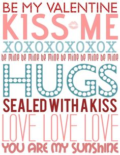 Love Poster Printable