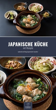 Japanese cuisine / dishes with recipes - RyuKoch a Greek Recipes, Asian Recipes, Japanese Recipes, Greek Diet, A Food, Food And Drink, Food Items, Food Blogs, Superfood
