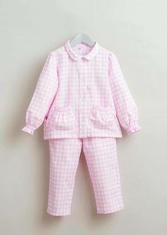 Baby Girl Fashion, Kids Fashion, Little Girl Dresses, Girls Dresses, Kids Nightwear, Night Suit, Design Girl, Girls Pajamas, Toddler Girl Outfits