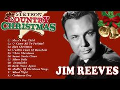 Jim Reeves Christmas Country Carols 2020 - Classic Country Christmas Carols Playlist - YouTube