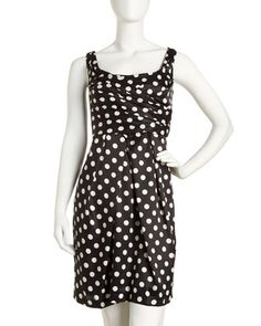 Polka-Dot Dress by Suzi Chin for Maggy Boutique at Last Call by Neiman Marcus.