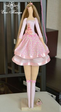 Куклы Тильды ручной работы. Ярмарка Мастеров - ручная работа. Купить Тильда Принцесса. 52см.. Handmade. Розовый,…
