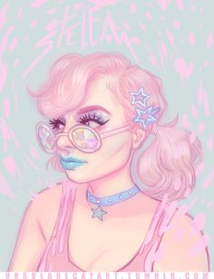 Original art by ursula decay art, she can be found on tumblr, ursuladecayart