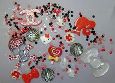 Kawaii Cabochon Deco Set by atldesignz on Etsy, $14.25