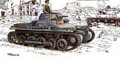 Carro de combate ligero Panzerkampfwagen I