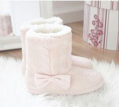 Love slipper boots, so cosy