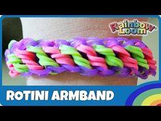 Rainbow Loom Rotini-Armband - deutsche Anleitung - YouTube Monster Tail, Rainbow Loom Charms, Loom Bands, Messina, Bracelets, Youtube, Manualidades, Children, Wristlets