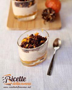 mousse di marroni marmellata di mandarini e crumble al cacao #mousse ...