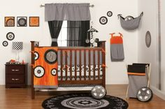 One Grace Place offers unique Baby Bedding Collections that are sure to add some race car action to your baby boy's nursery, be bold and liv...