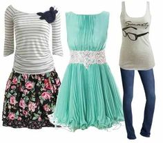 Teenagers clothes