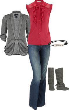"""Dressy Casual"" by heather-rolin on Polyvore"
