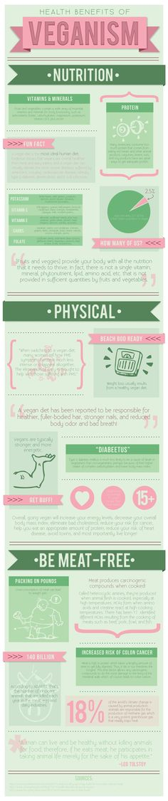 Infographic - Vegan Diet by Kayla Bryer, via Behance #vegan #living