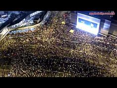 Drone Footage Reveals Massive Scale of Hong Kong Protests