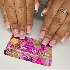 Short Square Acrylic Nails, Best Acrylic Nails, Square Nails, Cute Short Nails, Trendy Nails, Home Nail Salon, Nail Art Designs Images, Personalized Cards, Luxury Nails