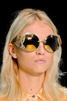 Tendencia Primavera 2013 accesorios gafas de sol lentes - Roberto Cavalli