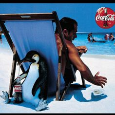 Coca Cola SNEAKY PENGUIN