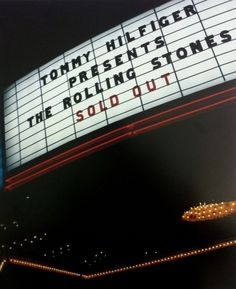 Tommy Hilfiger presents a sold out Rolling Stones concert!