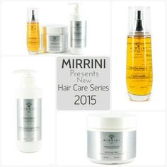 Mirrini new hair care series with Moroccan Argan Oil