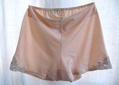 Culotte short jersey et dentelle coloris pêche par SergineBroallier
